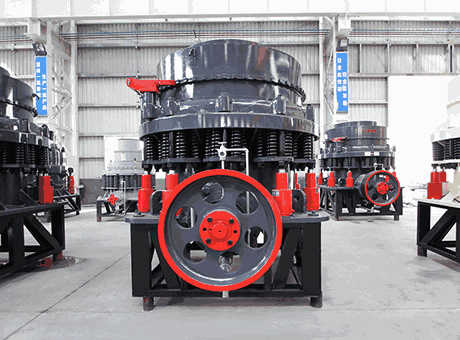 lubrication system for cone crusher in india mining world