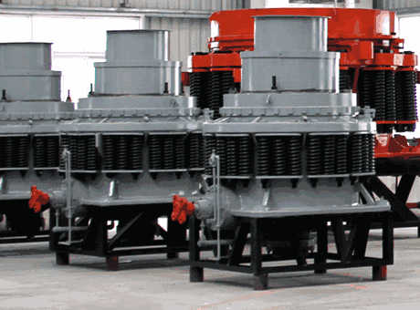 working of mets cone crusher