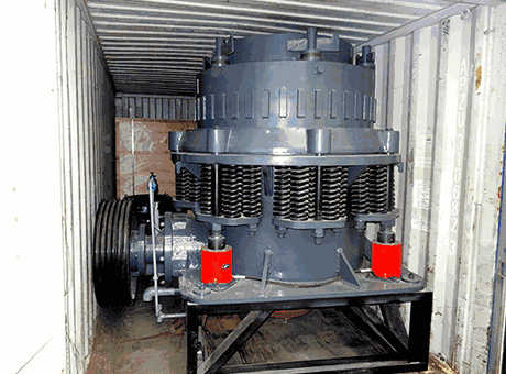 s cone crusher specification