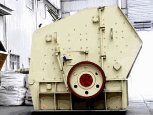 maintenance crusher china