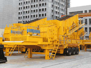 middle stone crusher plant china
