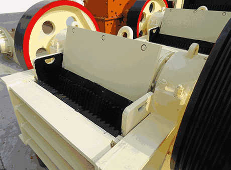 second bmd laboratory jaw crusher india