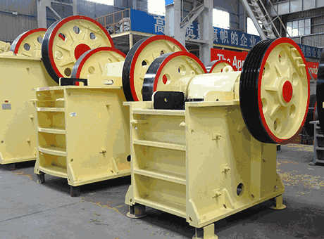 simple structure jaw crusher crushing machine in mining