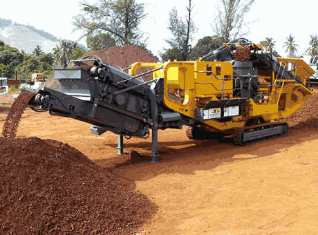 crawler mobile screen plant in ghana