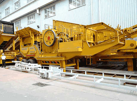 barite portable crusher in india