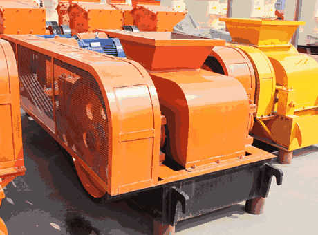 roller type rock crusher